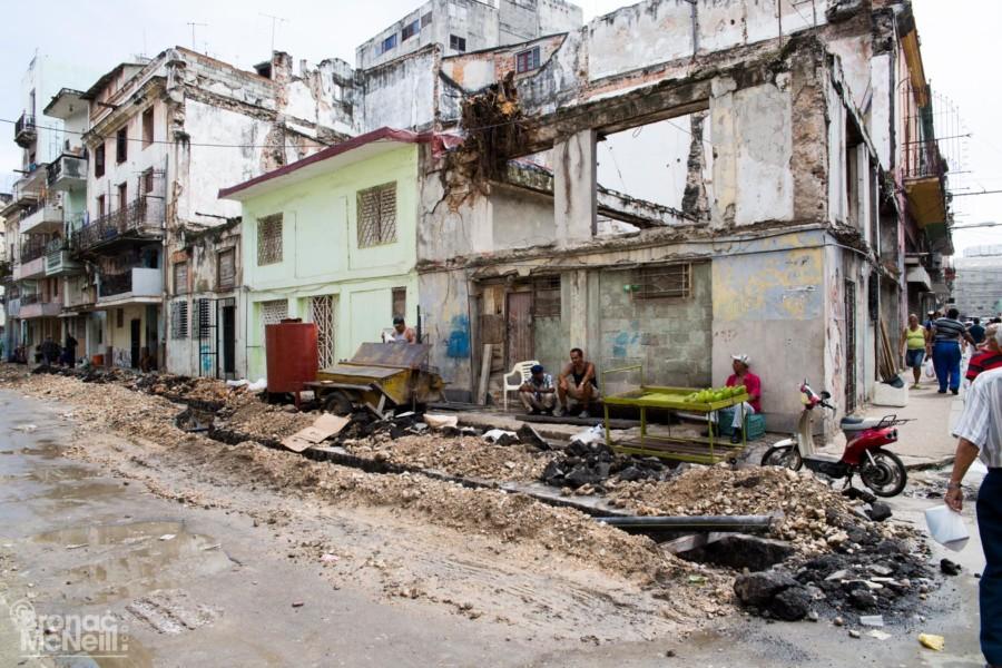 Crumbling Cuba by Bronac McNeill