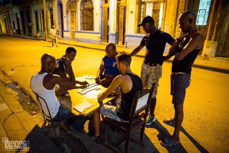 Street Life In Cuba by Bronac McNeill