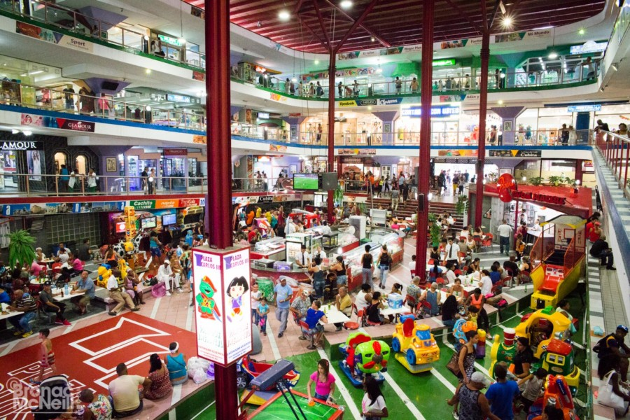 Cuban Shopping Mall photographed by Bronac McNeill